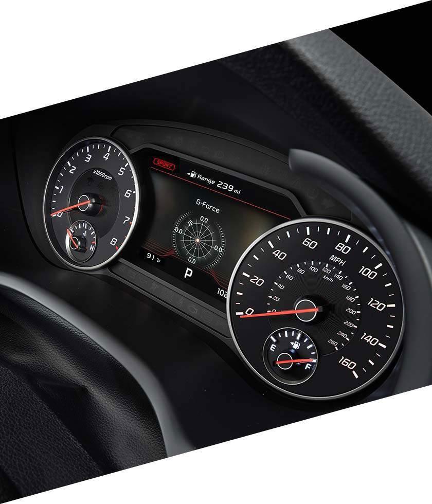 Luxurious Comfort in the Kia Stinger