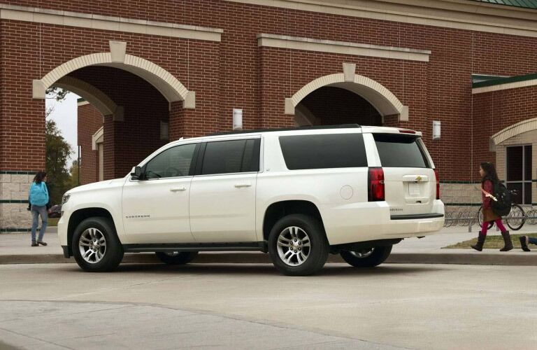 2017 Chevy Suburban side view