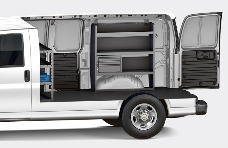 2017 Chevrolet Express Cargo Van customization and upfit