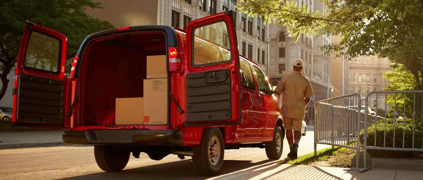 2017 Chevrolet Express Cargo Van Eau Claire, WI