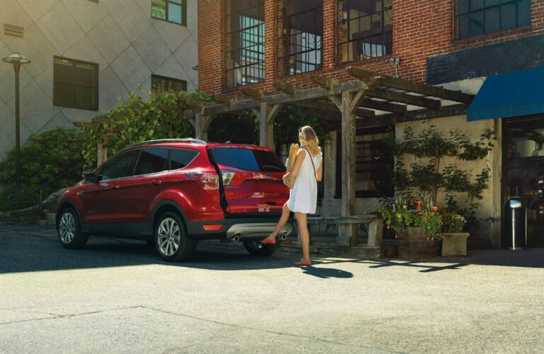 2017 Ford Escape hands free liftgate