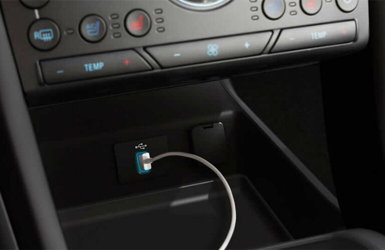 2017 Ford Fusion interior charging station