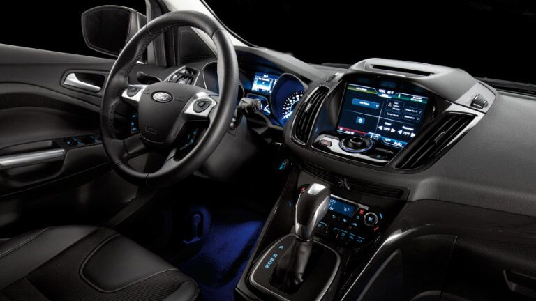 The interior of the 2015 Ford Escape Atlanta GA is fun and easy to use.