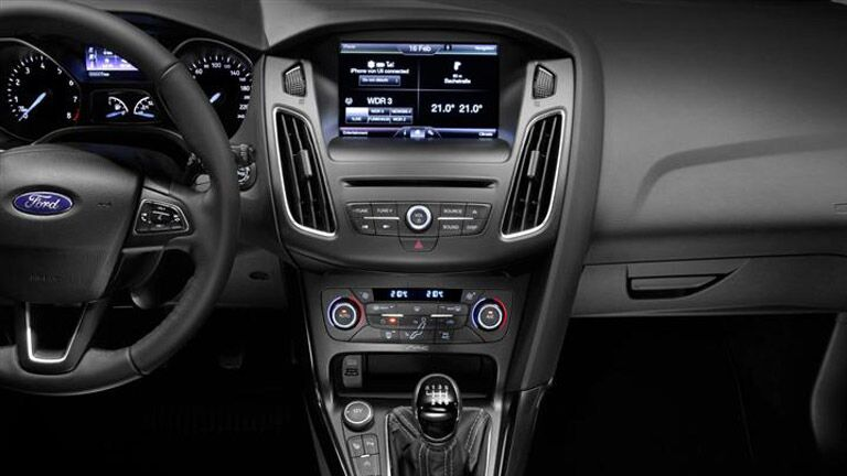 The interior of the 2015 Ford Focus Atlanta GA is advanced and sophisticated.