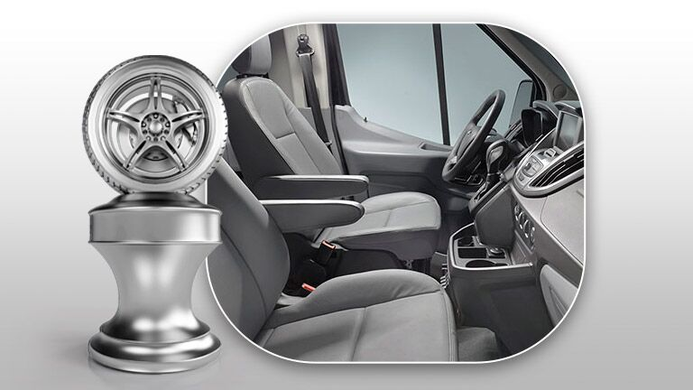 2015 Ford Transit comfortable front seats