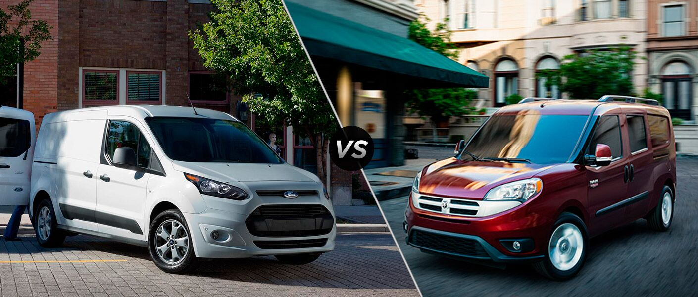 2015 Ford Transit Connect vs 2015 Ram ProMaster City