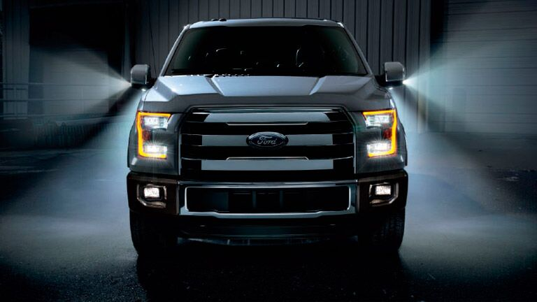 The 2015 Ford F150 is strong and lean.