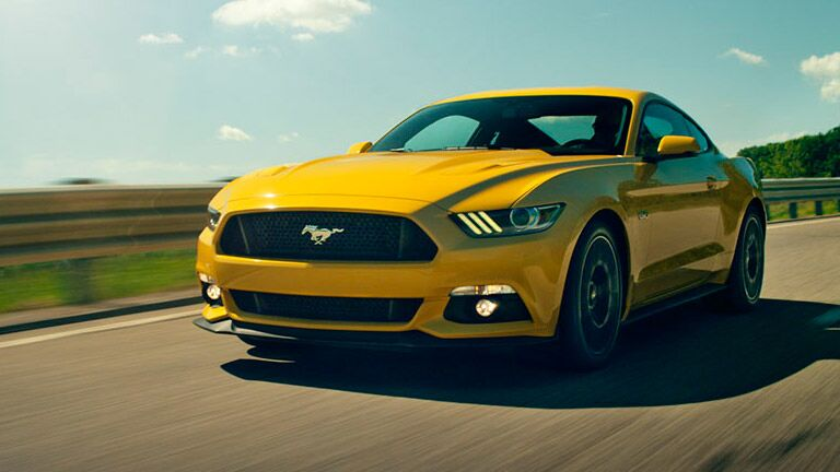 The 2015 Ford Mustang is fun and flirty.