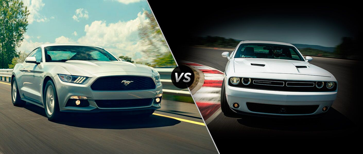 The 2015 Ford Mustang vs 2015 Dodge Challenger comparison is fun.