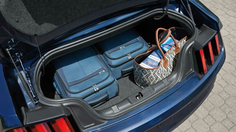 There is plenty of space in the 2015 Ford Mustang Atlanta GA. Get it today at Akins Ford!