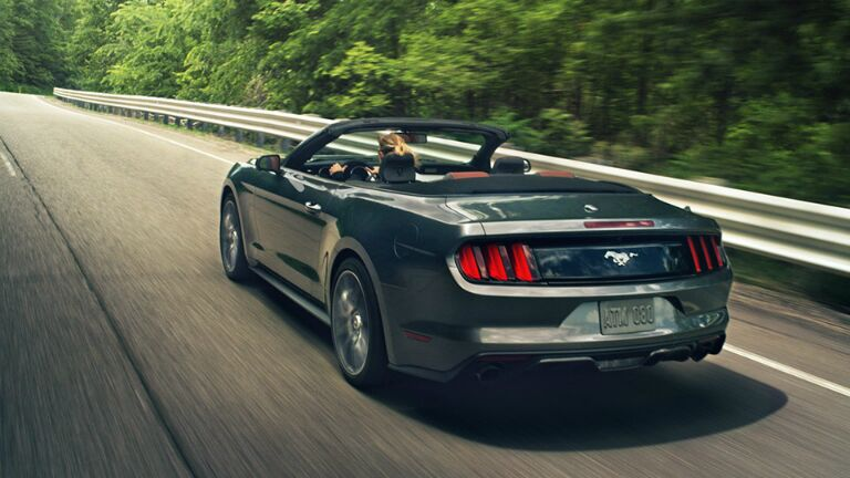 The 2015 Ford Mustang Atlanta GA is ready for the open road.