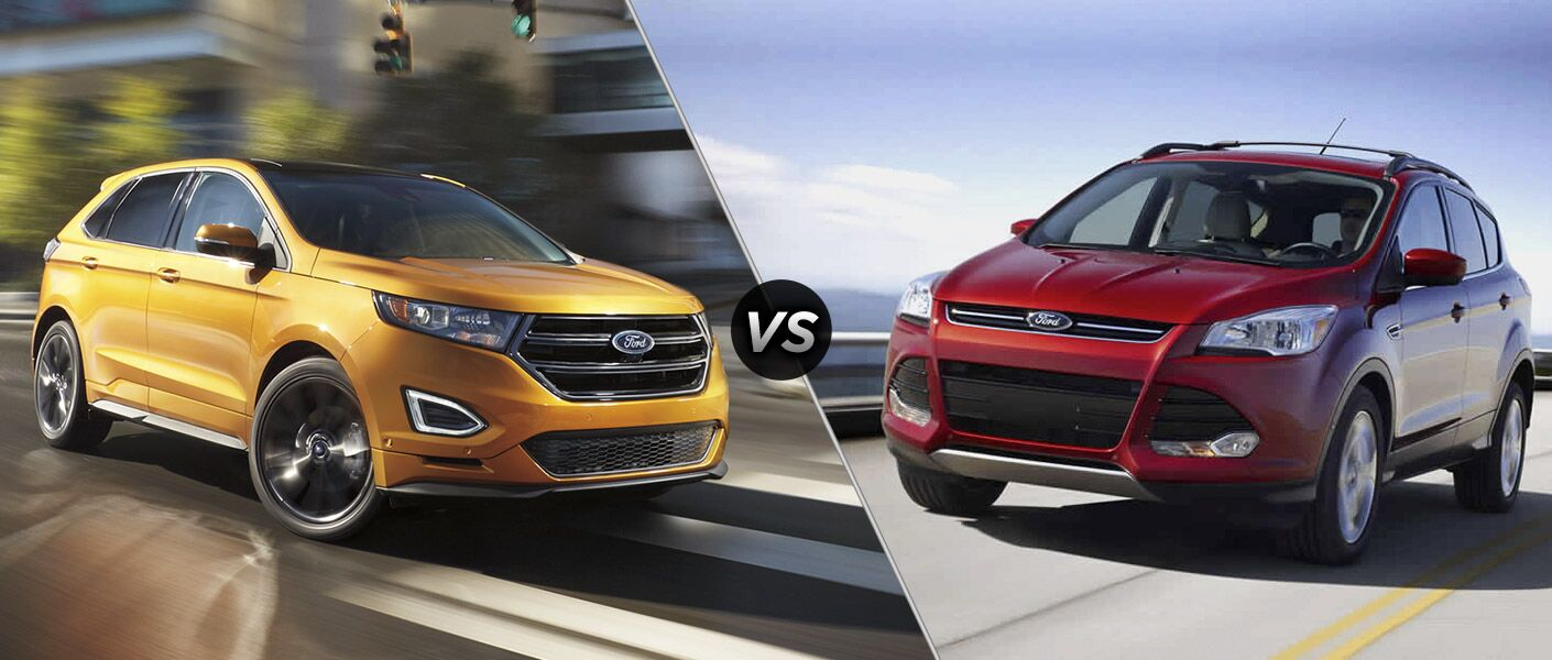 2016 Ford Edge vs 2016 Ford Escape