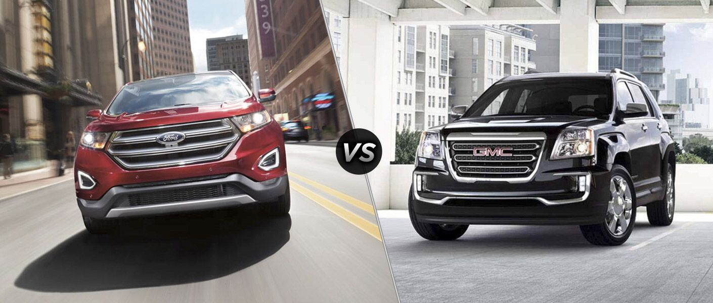 2016 Ford Edge vs 2016 GMC Terrain