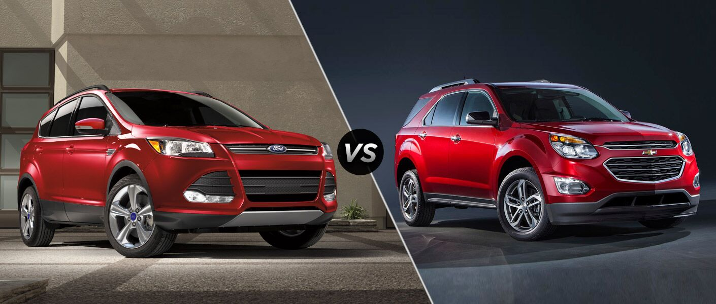 2016 Ford Escape vs 2016 Chevy Equinox