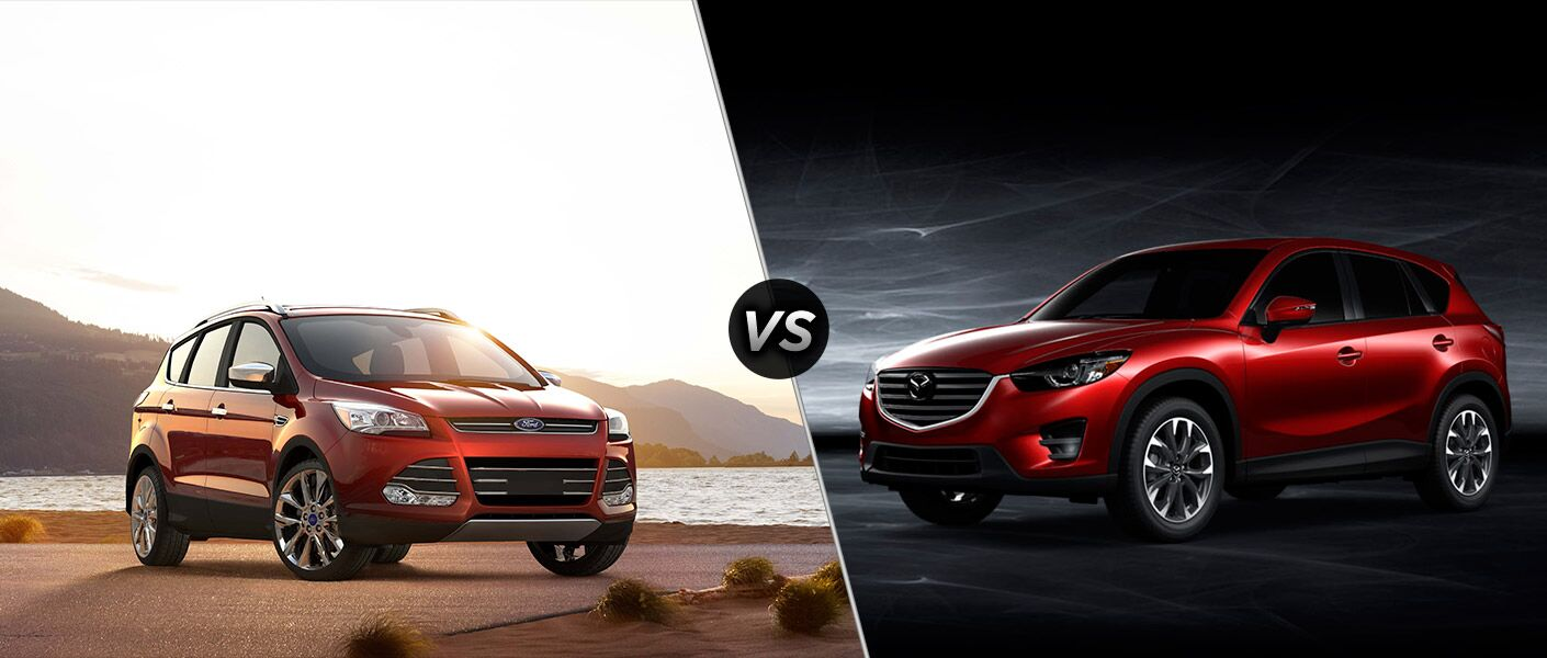 2016 Ford Escape vs 2016 Mazda CX-5