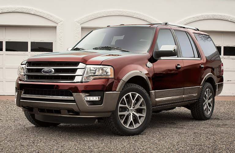 2017 Ford Expedition red