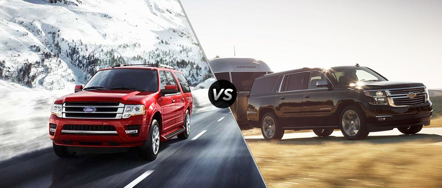 2016 Ford Expedition vs 2016 Chevy Suburban