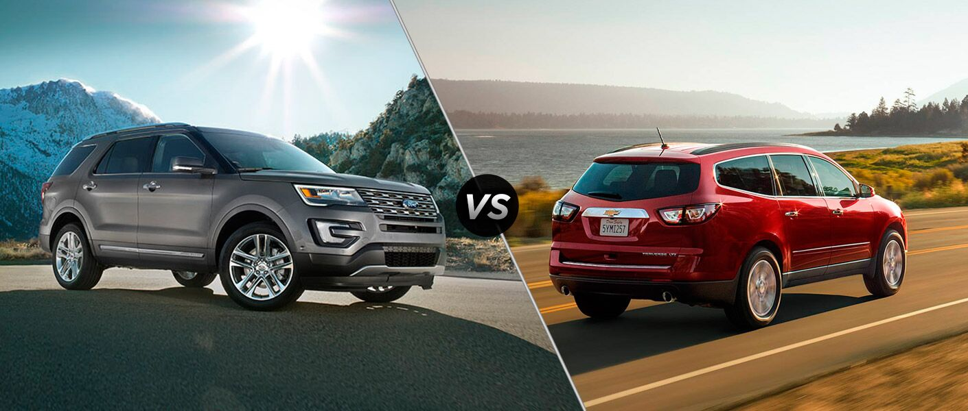 2016 Ford Explorer vs 2016 Chevrolet Traverse