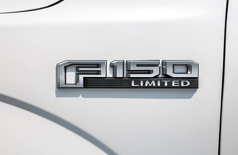 Branding for the 2016 Ford F-150 Limited