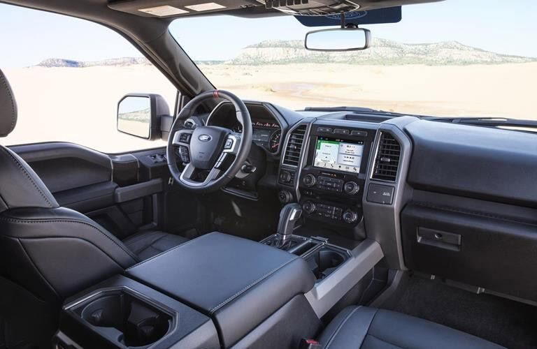 2017 Ford F-150 Raptor interior instrumentation