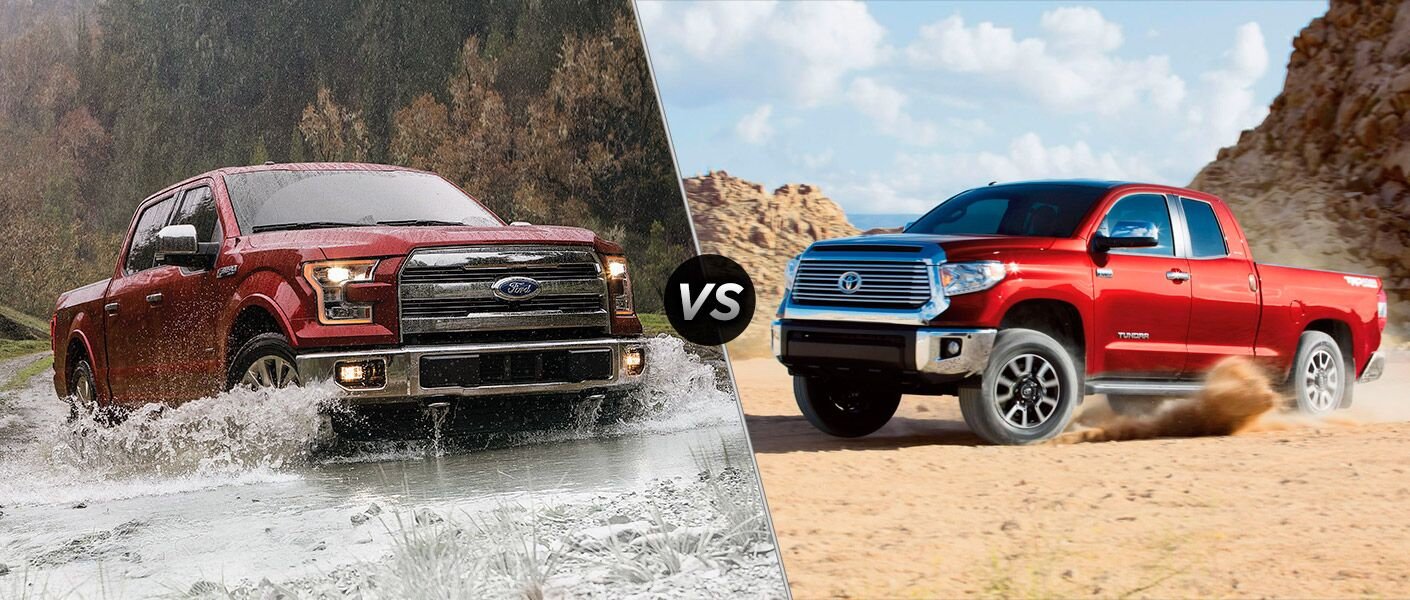2016 Ford F-150 vs 2016 Toyota Tundra