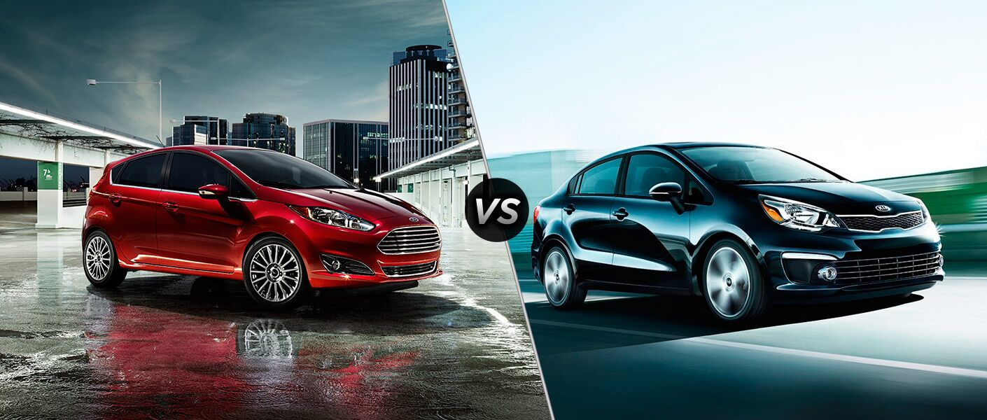 2016 Ford Fiesta vs 2016 Kia Rio-Akins Ford