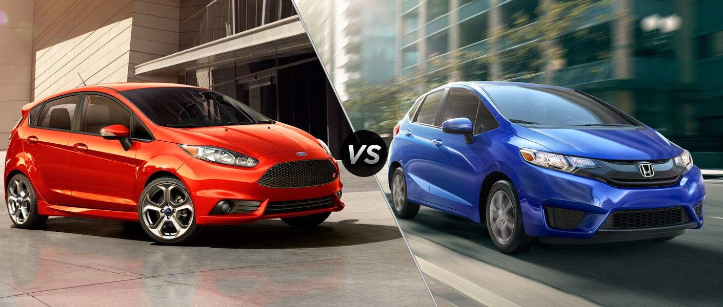 2016 Ford Fiesta vs 2016 Honda Fit