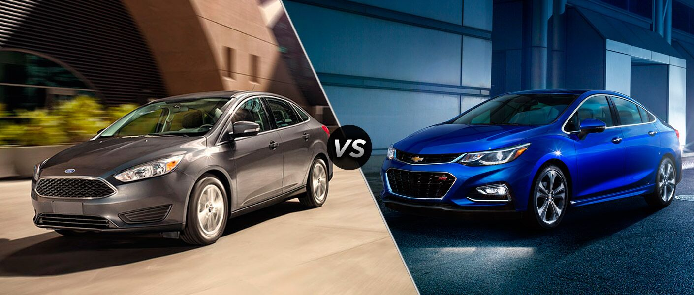 2016 Ford Focus vs 2016 Chevy Cruze
