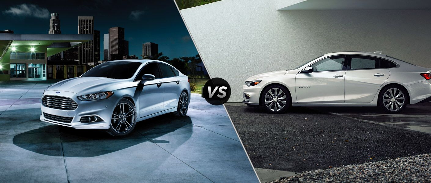 2016 Ford Fusion vs 2016 Chevy Malibu