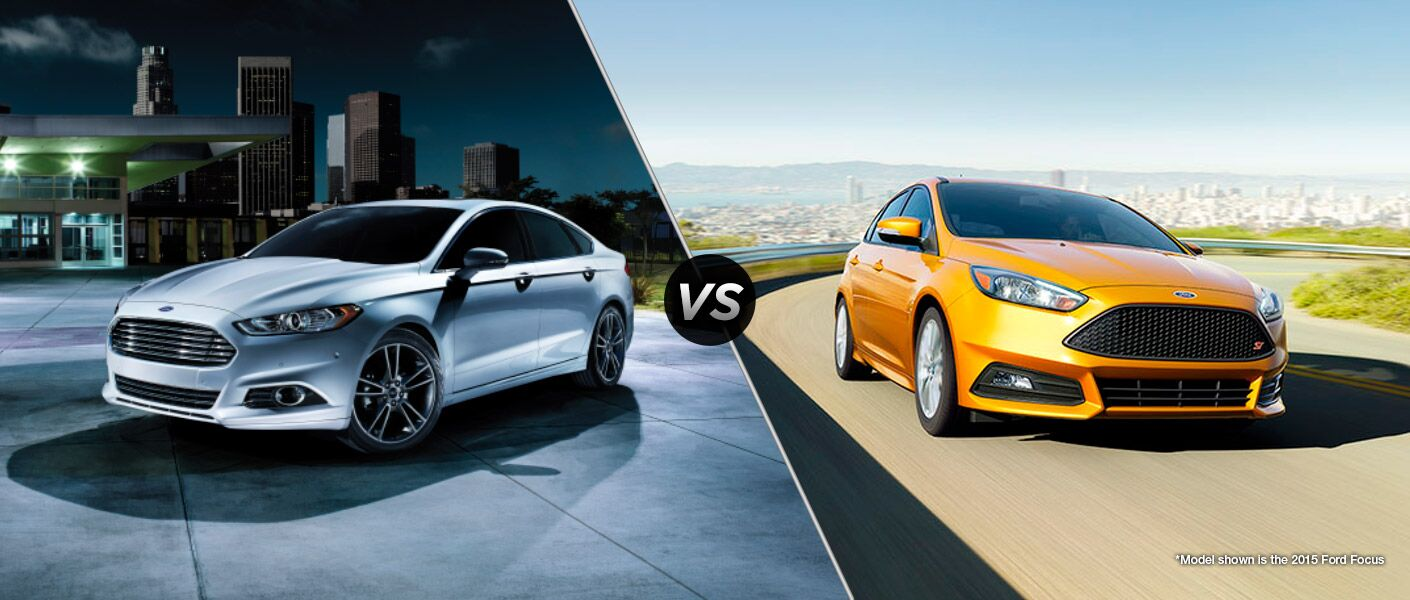 2016 Ford Fusion vs 2016 Ford Focus