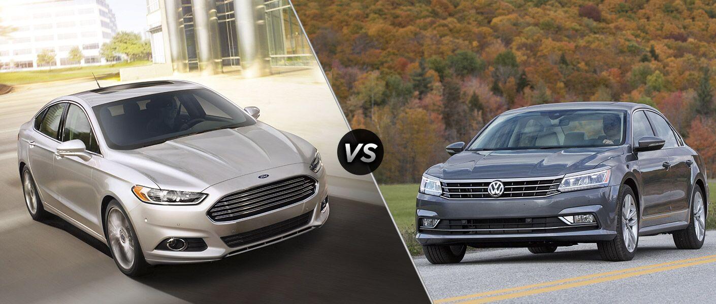 2016 Ford Fusion vs 2016 Volkswagen Passat