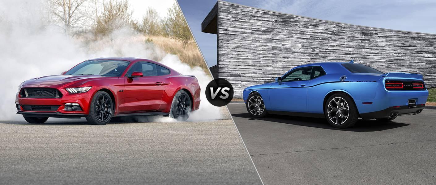2016 Ford Mustang vs 2016 Dodge Challenger