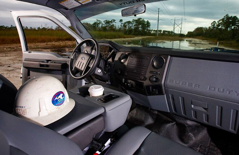 2016 Ford Super Duty Platinum interior