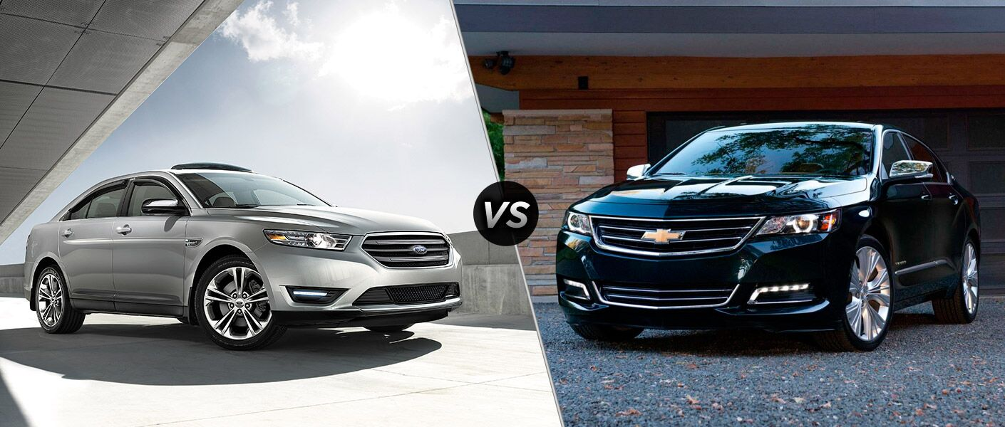 2016 Ford Taurus vs 2016 Chevy Impala