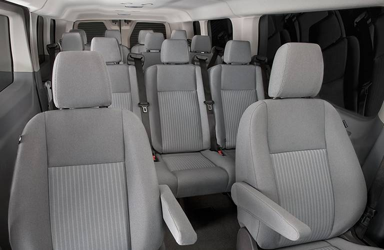 2016 Ford Transit Passenger Seating