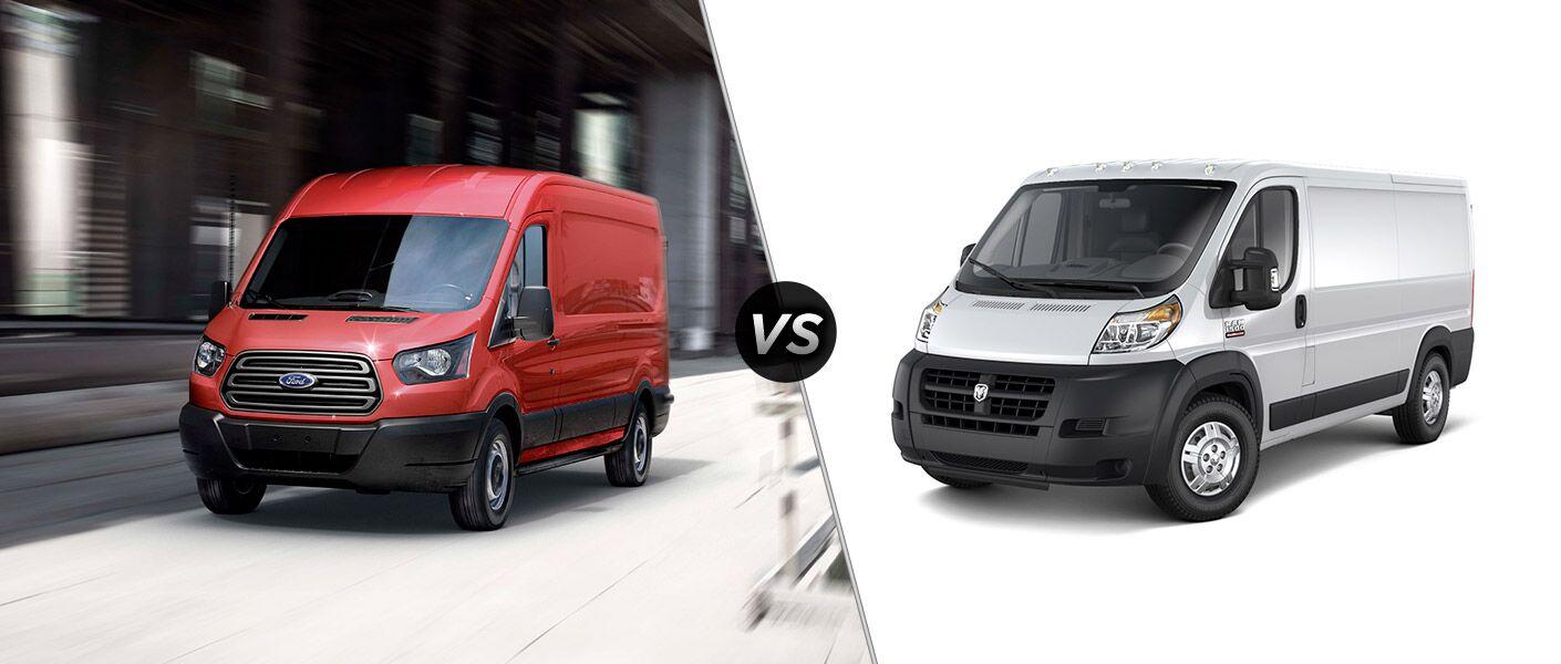 2016 Ford Transit vs 2016 Ram ProMaster