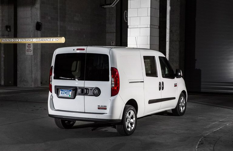 2016 Ram ProMaster City from the rear