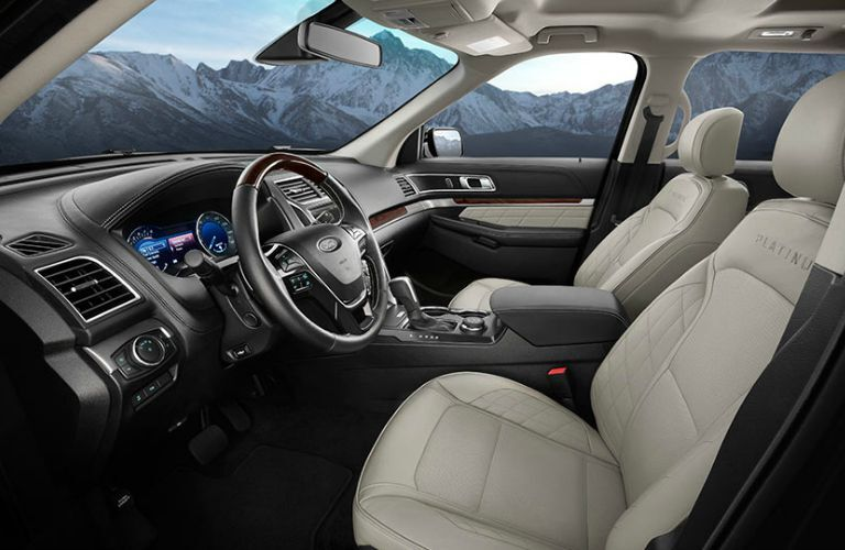 The 2016 Ford Explorer Atlanta GA has an exquisite interior.