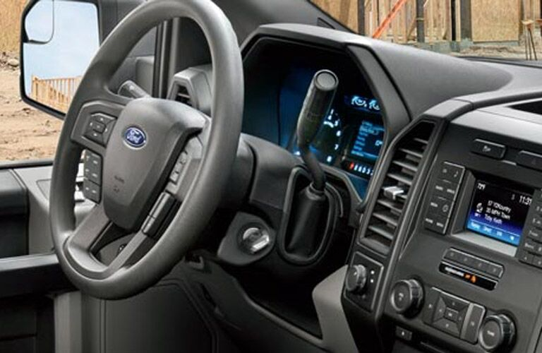 2016 Ford F-150 XL steering wheel standard at Akins