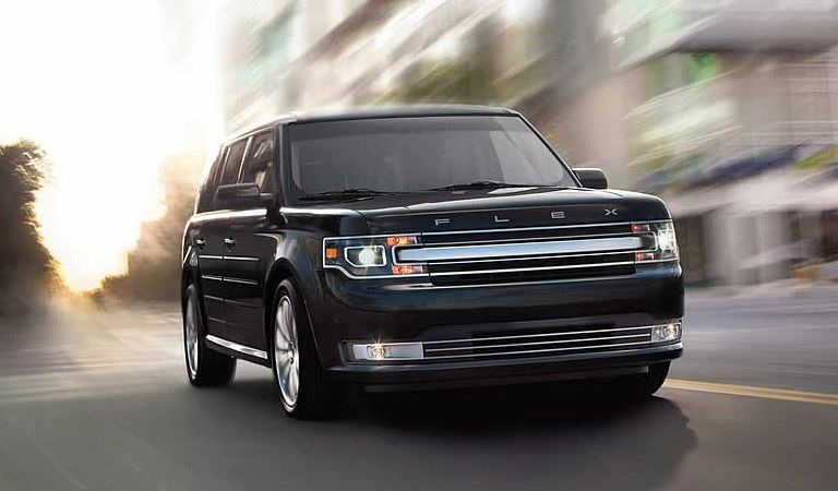 2016 Ford Flex on road