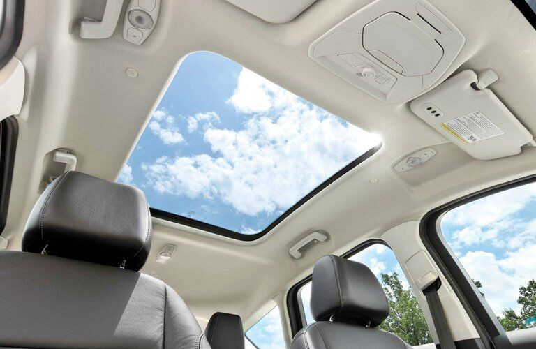 2017 Ford C-MAX Hybrid interior sun roof