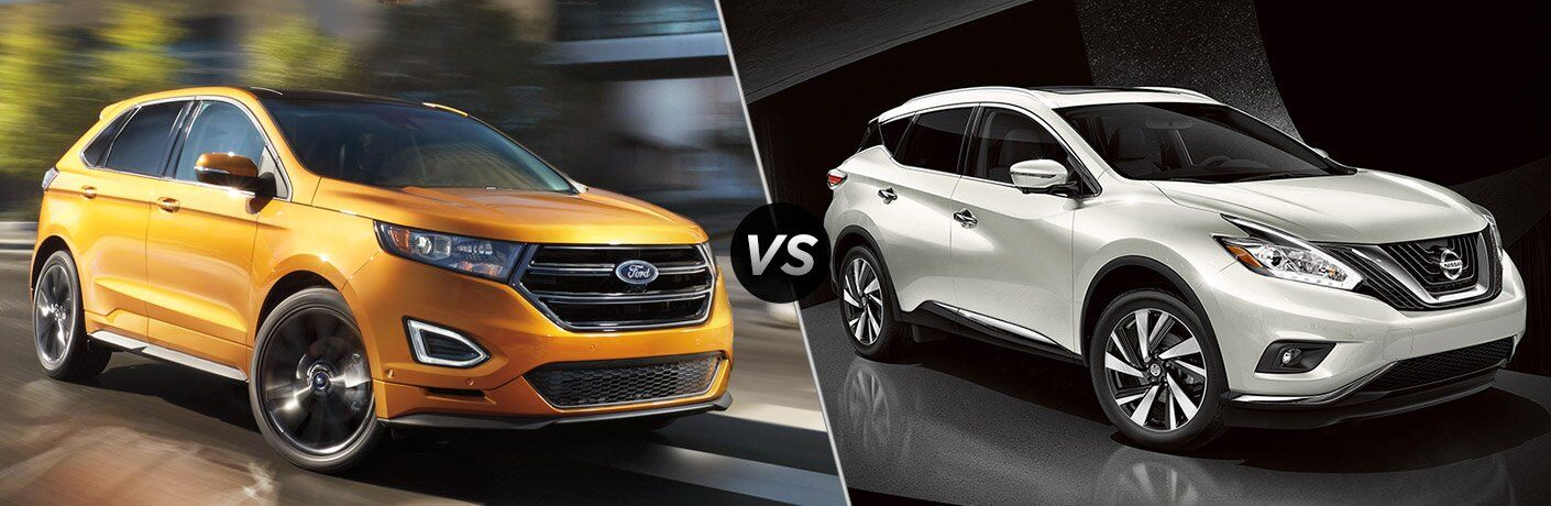 2017 Ford Edge vs 2017 Nissan Murano