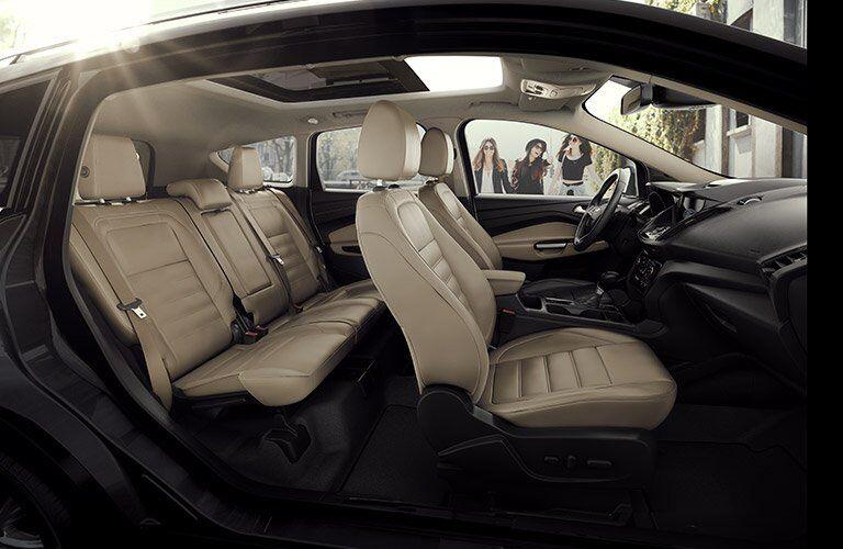 2017 Ford Escape Full Interior Passenger Space