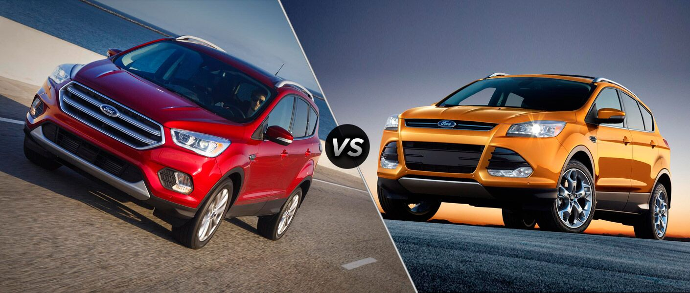 2017 Ford Escape vs 2016 Ford Escape
