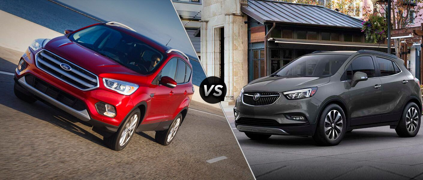 2017 Ford Escape vs 2017 Buick Encore