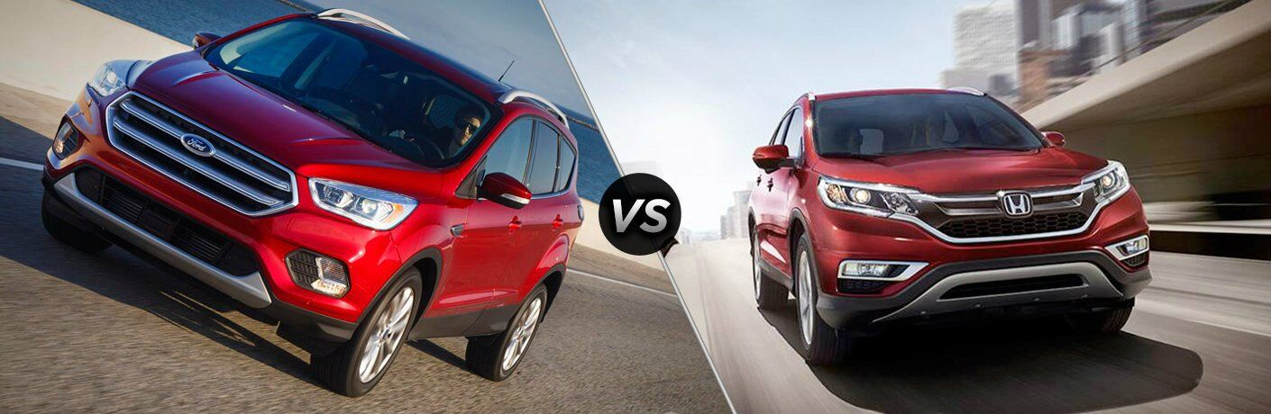 2017 ford escape vs 2017 honda cr v