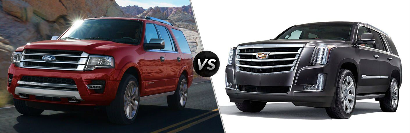 2017 Ford Expedition vs 2017 Cadillac Escalade