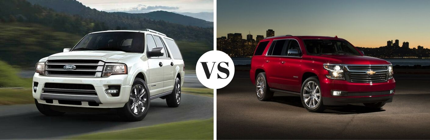 2017 Ford Expedition vs 2017 Chevrolet Tahoe