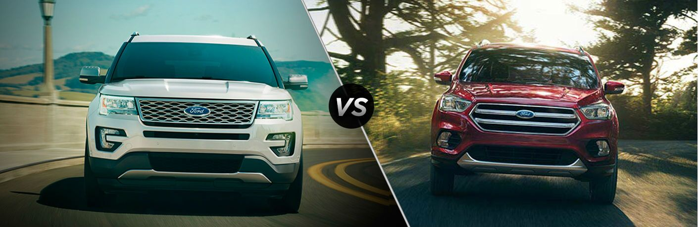 2017 Ford Explorer vs 2017 Chevrolet Equinox
