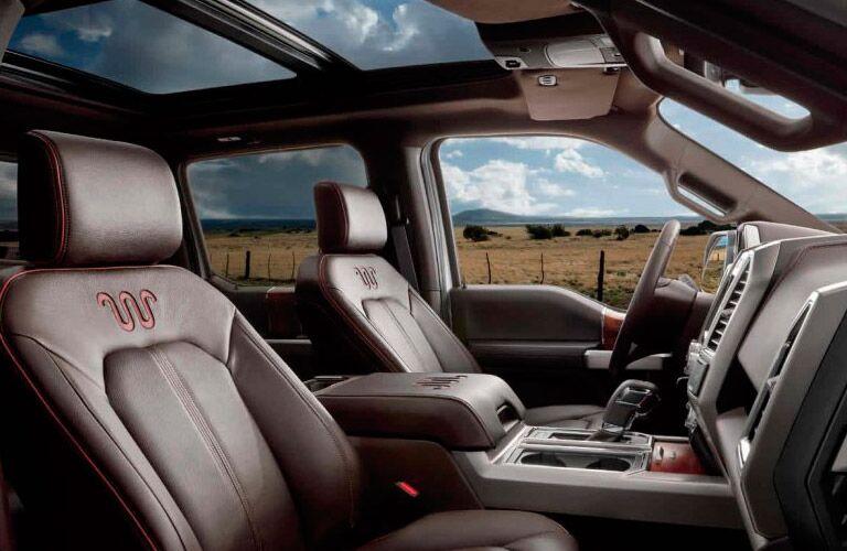 Good 2017 Ford F 150 Platinum Interior